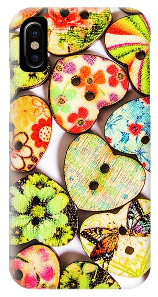 Texture iPhone Case - A Craft Of Hearts by Jorgo Photography - Wall Art Gallery
