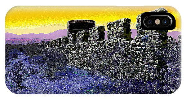 Silo iPhone Case - A Desert Host 2 by Glenn McCarthy Art and Photography