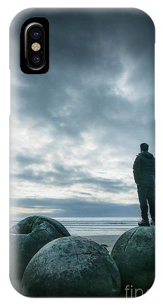 Boulder iPhone Case - A Dream Of 5 Nights by Evelina Kremsdorf