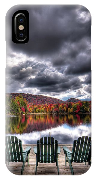 IPhone Case featuring the photograph A Fall Day On West Lake by David Patterson