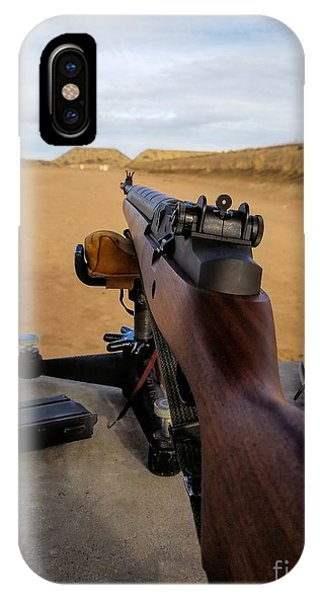 IPhone Case featuring the photograph A Fine Day At The Range by Jon Burch Photography