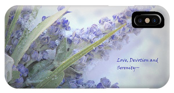 A Gift Of Lavender IPhone Case