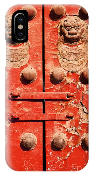 Iron iPhone Case - A Guardtower Stands At The End Of An by Matt Ragen