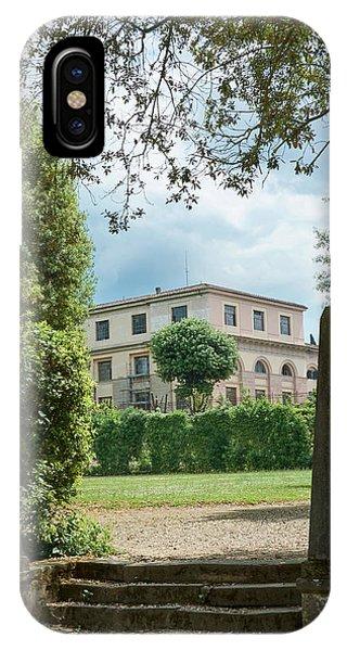A Hidden View In The Boboli Gardens IPhone Case