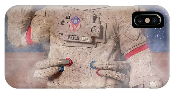 Astronaut iPhone Case - A Lifetime And Beyond Astronaut  by Betsy Knapp