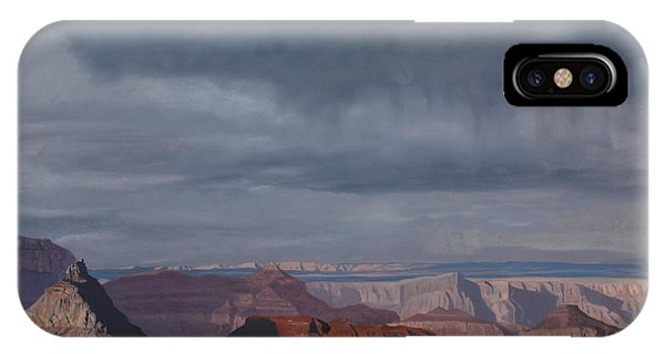 A Little Rain Over The Canyon IPhone Case