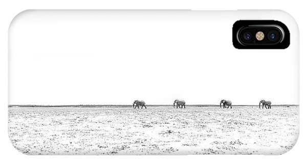 A Long Dusty Road IPhone Case