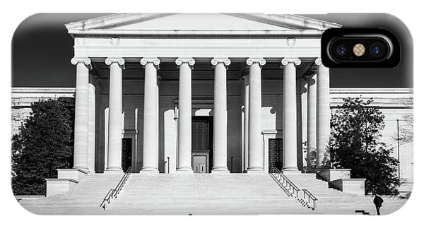 A Morning Stroll By The National Gallery IPhone Case
