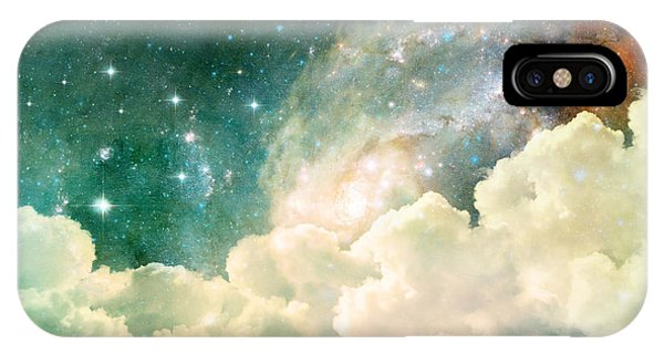 Space iPhone Case - A Photo Based Cloudscape With Clouds by Stephanie Frey