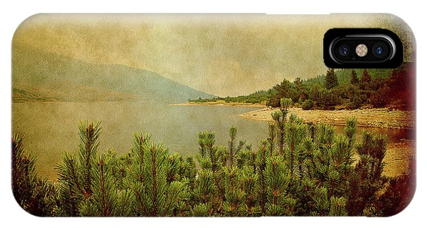 IPhone Case featuring the photograph A Quiet Moment Before Storm... by Milena Ilieva