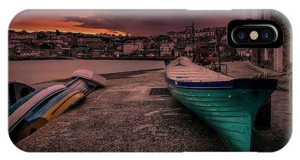 A Quiet Moment - Cornwall IPhone Case