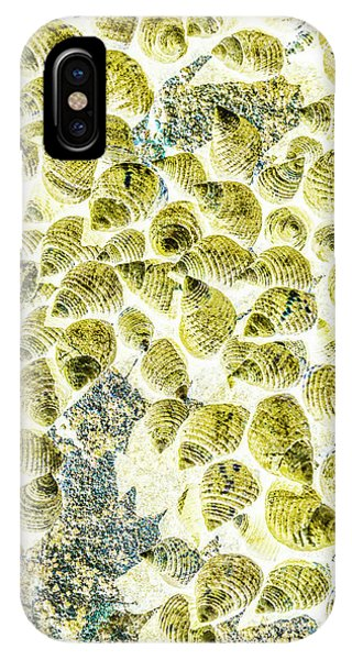 Texture iPhone Case - A Seashell Abstract by Jorgo Photography - Wall Art Gallery