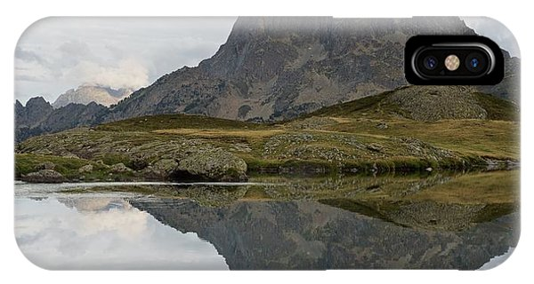 IPhone Case featuring the photograph A Still Evening At Lac Du Miey by Stephen Taylor