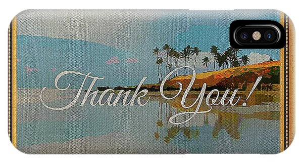 A Thank You Gift IPhone Case
