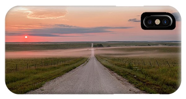 Rural America iPhone Case - A Touch Of Fog by Scott Bean