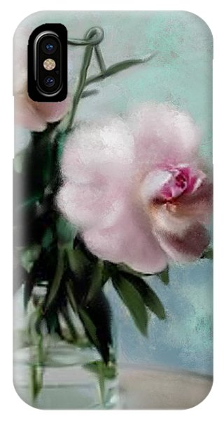 A Vase Of Peonies IPhone Case