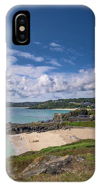 A Walk To Porthgwidden Beach - St Ives Cornwall IPhone Case