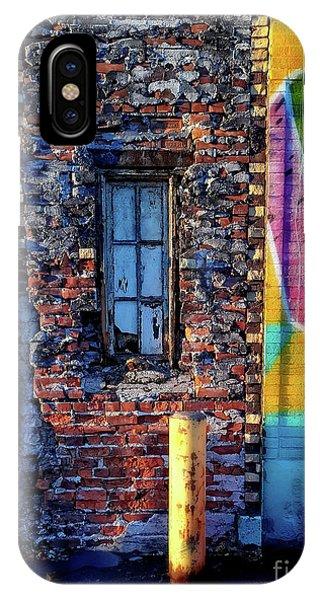A Window Set In Bricks IPhone Case