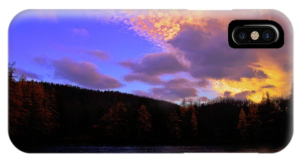 iPhone Case - A Woodcraft Sunset by David Patterson