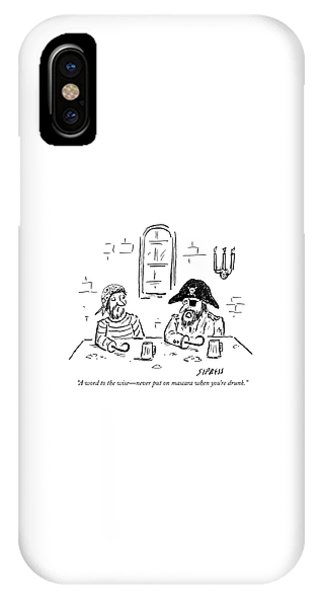 A Word To The Wise IPhone Case