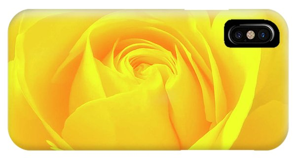 A Yellow Rose For Joy And Happiness IPhone Case