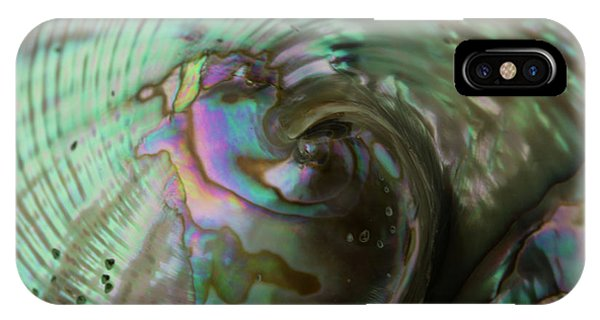 Abalone_shell_9903 IPhone Case