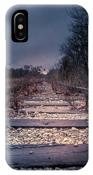 IPhone Case featuring the photograph Abandoned by Allin Sorenson