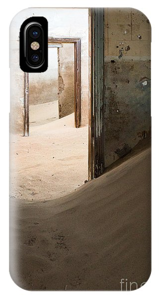 Heat iPhone Case - Abandoned Building Being Taken Over By by Anna Morgan