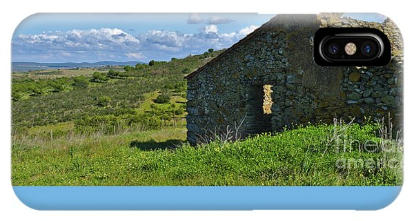 Abandoned Cottage In Alentejo IPhone Case