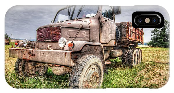 iPhone Case - Abandoned Old Rusty Truck Praga V3s by Michal Boubin