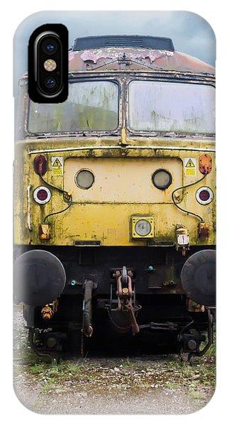 Abandoned Yellow Train IPhone Case