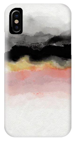 Watercolor iPhone Case - Abiding 1- Art By Linda Woods by Linda Woods
