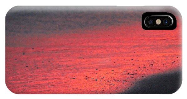iPhone Case - Abstract Beach by Tony Cordoza
