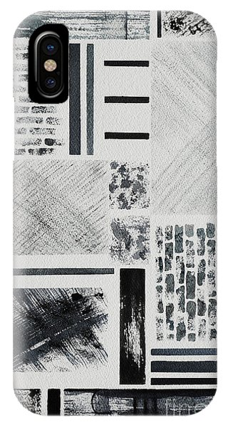 Abstract Collage IPhone Case
