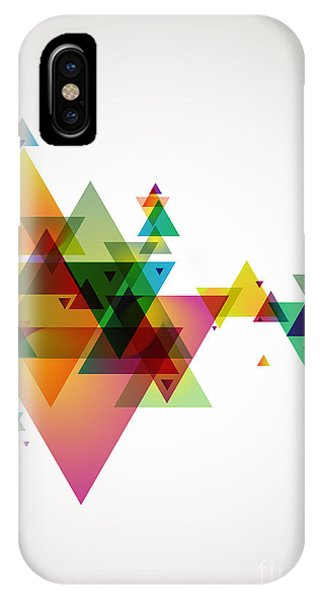 Space iPhone Case - Abstract Colored Background by Theromb