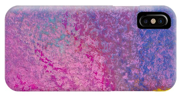 Lavender iPhone Case - Abstract Colorful Background With Pastel Texture by Elena Sysoeva