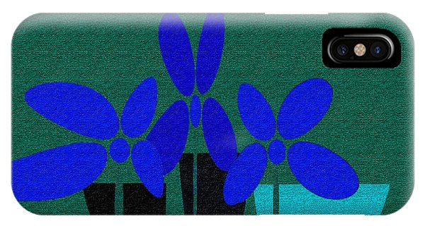 Abstract Floral Art 392 IPhone Case