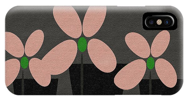 Abstract Floral Art 394 IPhone Case