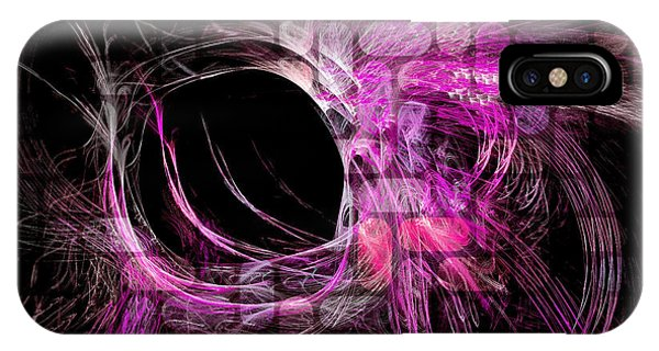 Abstract Heaven Magenta IPhone Case