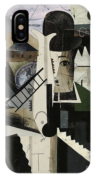 Famous People iPhone Case - Abstract Image Of Charlie by Dmitriip