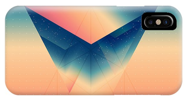 Abstract Isometric Prism With The Phone Case by Boris Znaev