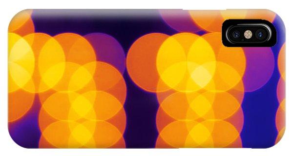 Celebration iPhone Case - Abstract Lights by Juha Sompinmaeki