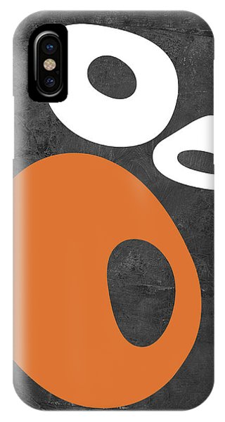 Century iPhone Case - Abstract Oval Shapes I by Naxart Studio
