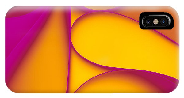 Form iPhone Case - Abstract Paper Background by Comaniciu Dan