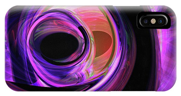 Mixed iPhone Case - Abstract Rendered Artwork 3 by Johan Swanepoel