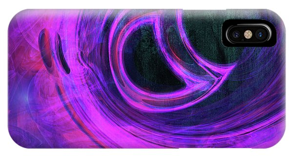 Digital Image iPhone Case - Abstract Rendered Artwork 4 by Johan Swanepoel