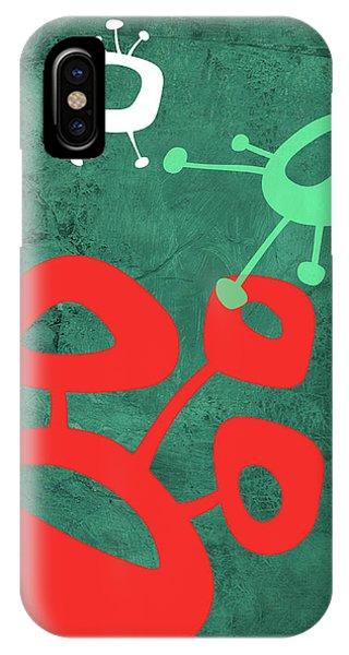 Century iPhone Case - Abstract Splash Theme II by Naxart Studio