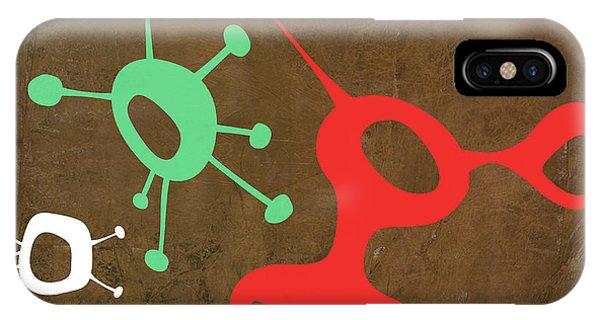 Century iPhone Case - Abstract Splash Theme IIi by Naxart Studio
