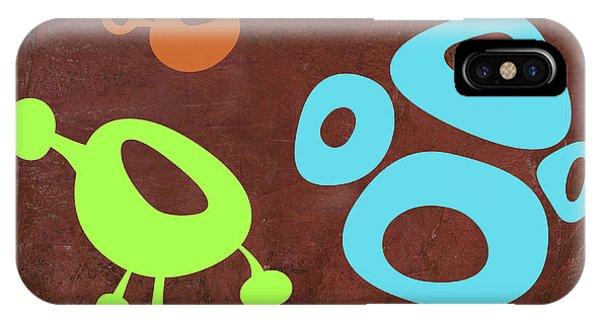 Century iPhone Case - Abstract Splash Theme IIx by Naxart Studio