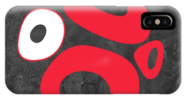 Century iPhone Case - Abstract Splash Theme Ix by Naxart Studio